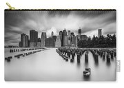 New York City In Black And White Carry-all Pouch
