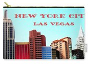 New York City- Las Vegas Carry-all Pouch
