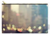 New York City Lights At Dusk Carry-all Pouch