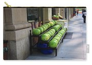 New York City Market Carry-all Pouch by Frank Romeo