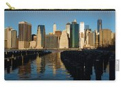 New York City Morning Reflections - Impressions Of Manhattan Carry-all Pouch
