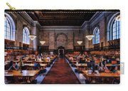 New York City Public Library Rose Reading Room Carry-all Pouch