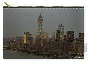 New York City Skyline Aerial - Lower Manhattan Carry-all Pouch