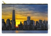 New York City Skyline At Dawn Carry-all Pouch