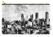 New York City Skyline Sketch Carry-all Pouch