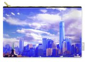 New York City Skyline With Freedom Tower Carry-all Pouch