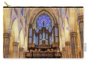 New York City St Patrick's Cathedral Organ Carry-all Pouch
