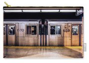 New York City Subway Cars Carry-all Pouch
