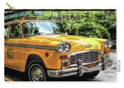 New York City Yellow Checker Taxicab Carry-all Pouch