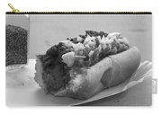 New York Corner Deli Dog Carry-all Pouch by Betsy Knapp