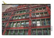 New York Fire Escapes Carry-all Pouch