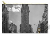New York - Flatiron Building And Yellow Cabs - 2 Carry-all Pouch