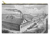 New York: Iron Works, 1876 Carry-all Pouch
