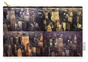 New York Mid Manhattan Medley - Photo Art Poster Carry-all Pouch