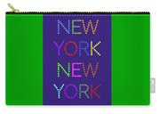 New York No 5  Carry-all Pouch