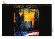 New York Night Skyline Carry-all Pouch