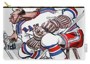 New York Rangers 1960 Program Carry-all Pouch