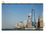 New York Skyline And Sailboat Carry-all Pouch