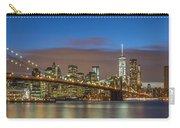 New York Skyline - Brooklyn Bridge Panorama - 2 Carry-all Pouch