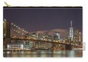 New York Skyline - Brooklyn Bridge Panorama - 3 Carry-all Pouch
