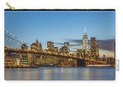 New York Skyline - Brooklyn Bridge Panorama Carry-all Pouch