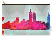 New York Skyline Old Shapes - Da Carry-all Pouch
