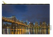 New York Skyline - Queensboro Bridge - 2 Carry-all Pouch