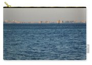 New York Skyline Carry-all Pouch by Robbie Masso