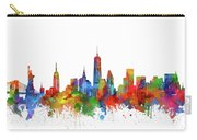 New York  Skyline Watercolor Carry-all Pouch