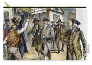 New York: Stamp Act , 1765 Carry-all Pouch