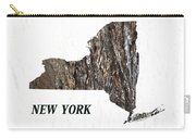 New York State Map Carry-all Pouch