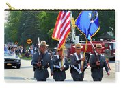 New York State Police Color Guard  5 Carry-all Pouch