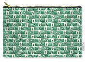 New York Street Sign Times Square  Carry-all Pouch