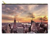 New York Sunset Carry-all Pouch