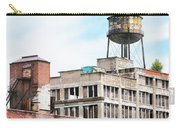 New York Water Towers 18 - Greenpoint Water Tower Carry-all Pouch by Gary Heller