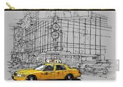 New York Yellow Cab Carry-all Pouch