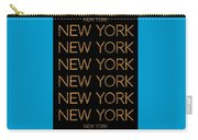 New York No 3  Carry-all Pouch