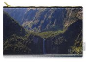 New Zealand Stirling Falls In Hanging Valley Carry-all Pouch