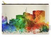 Newark Skyline Panorama Usnjne-pa03 Carry-all Pouch