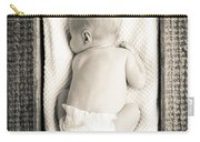 Newborn Baby In Crate Filtered Carry-all Pouch