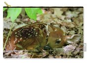 Newborn White-tailed Deer Fawn Carry-all Pouch