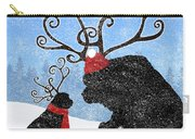 Newfie Reindeer Carry-all Pouch