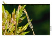 newly emerged Rambur's forktail Carry-all Pouch