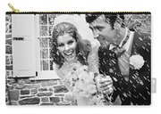 Newlyweds Showered With Rice, C.1960-70s Carry-all Pouch