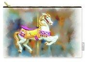 Newport Beach Carousel Horse Carry-all Pouch