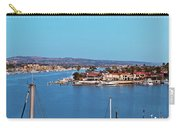 Newport Beach Harbor At Dusk Carry-all Pouch