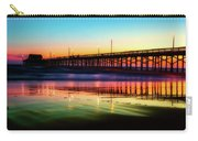 Newport Beach Pier At Sunrise Carry-all Pouch