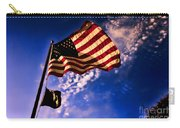 Newport Beach Sunset On Old Glory Carry-all Pouch