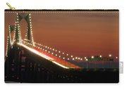 Newport Bridge Twilight Carry-all Pouch