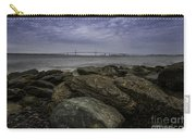 Newport Bridge Under Dramatic Sky Carry-all Pouch